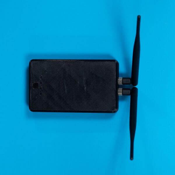 części do dronów RFD Acces Point widok z góry