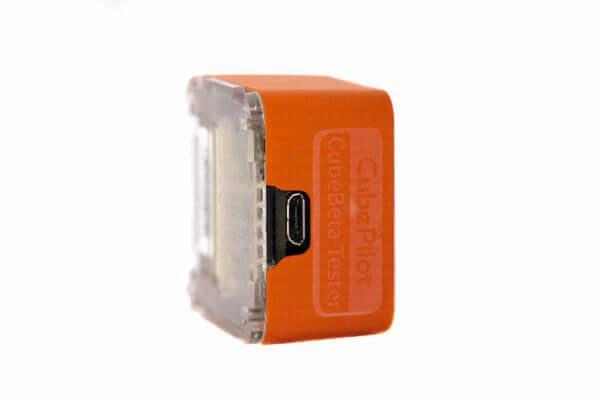 części do dronów pomarańczowy The Cube Orange (Pixhawk 2.1) front