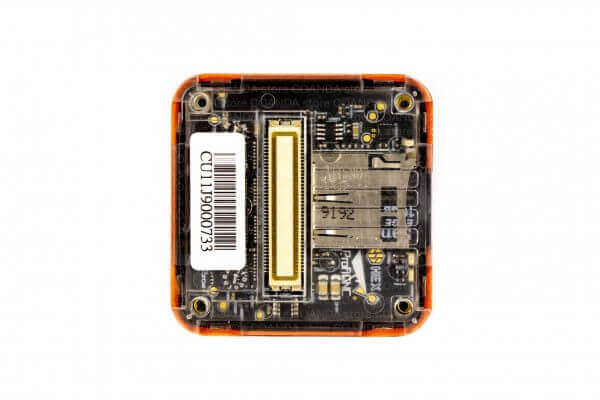części do dronów pomarańczowy The Cube Orange (Pixhawk 2.1) zdjęta obudowa