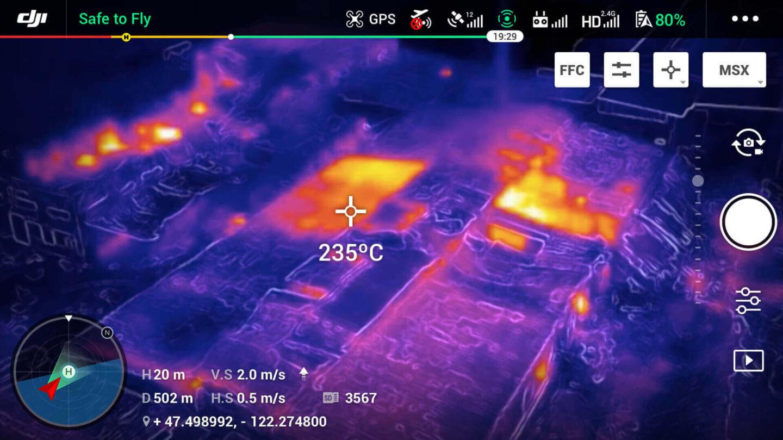 dron Mavic 2 Enterprise Dual DJI termowizja