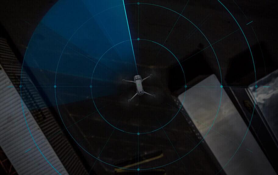 dron Mavic 2 Enterprise Dual DJI kontrola przestrzeni