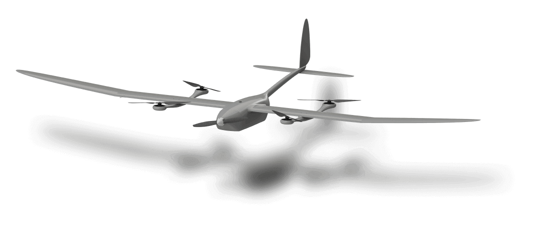 bezzałogowy system powietrzny cywilny wizualizacja modelu ekoSKY