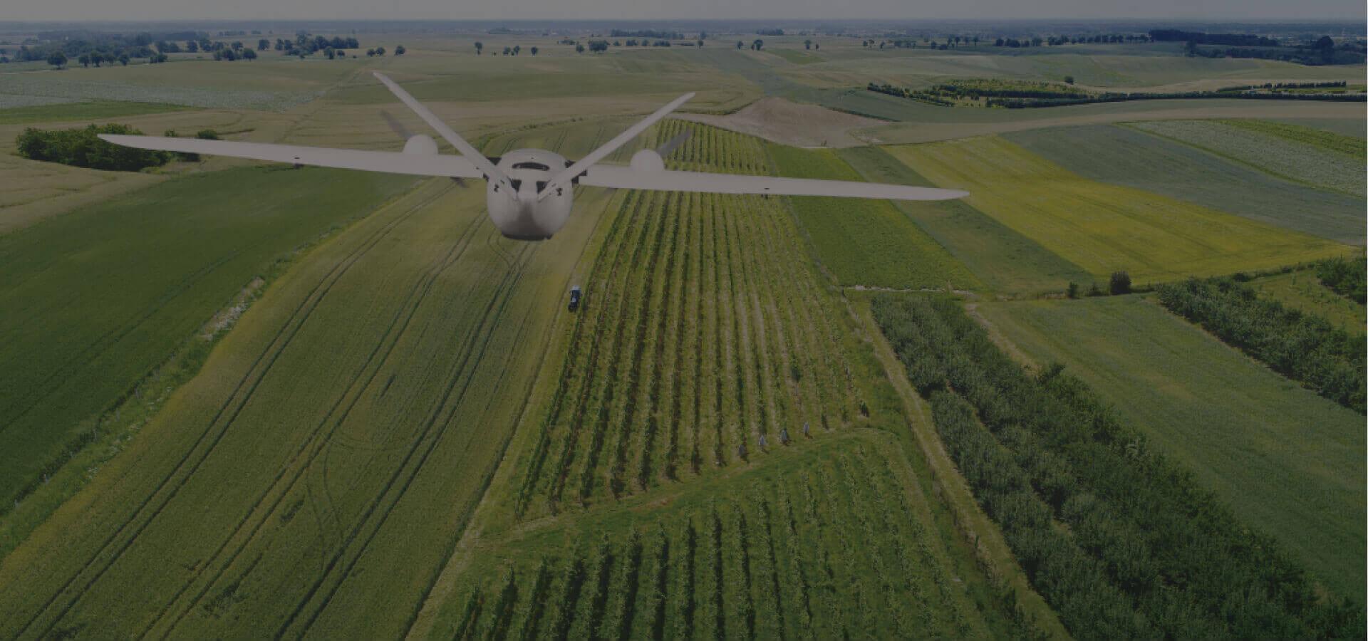 samolot bezzałogowy pionowego startu ekoSKY