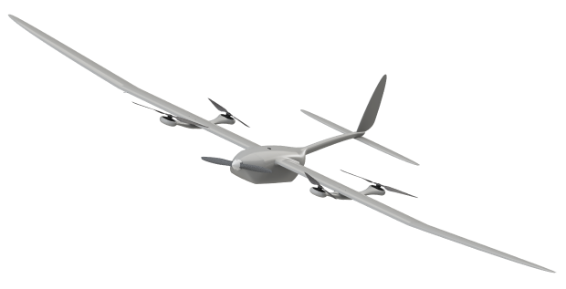 ecoSKY vertical take-off unmanned aerial vehicle