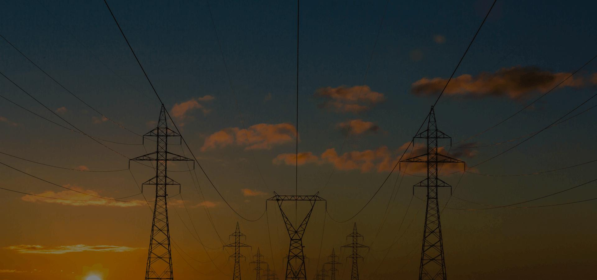 pomiary geodezyjne dronem zdjęcie sieci energetycznej