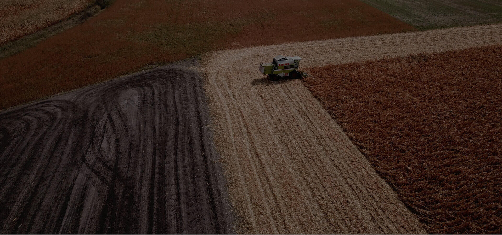 precision farming - removing fields during harvest