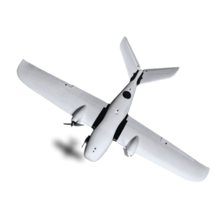 mapowanie terenu samoloty bezzałogowe Koliber widok z góry