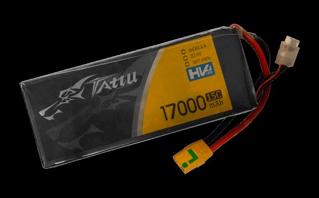 baterie do dronów - Akumulator 6s 17Ah Lipo HV