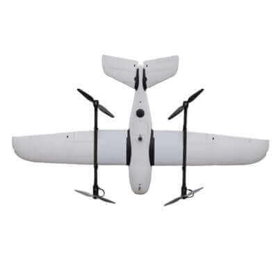 bezzałogowy system powietrzny Koliber Vtol widok z góry