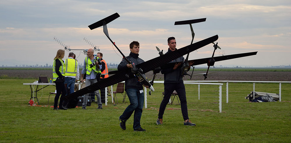 Pierwsze loty testowe VTOL