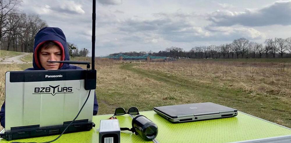Wdrożenie MPWiK Wrocław inspekcje dronem jesienią
