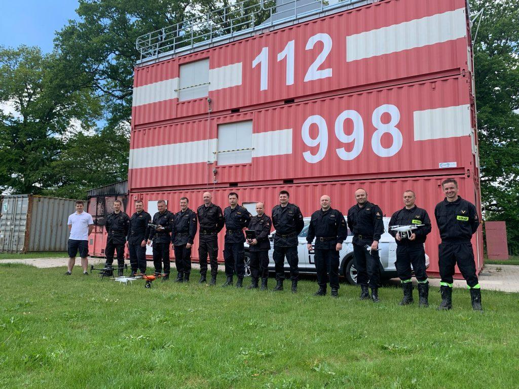 Szkolenie zdronów dla strażaków