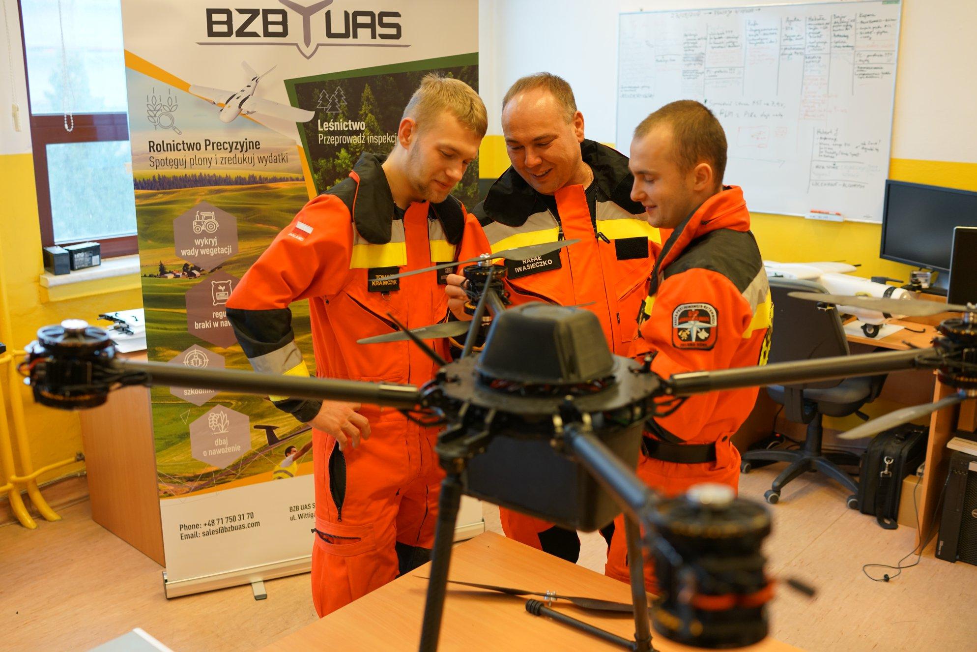 szkolenie na drona OSP Jarogniewice